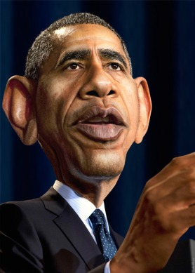 Obama Caricature